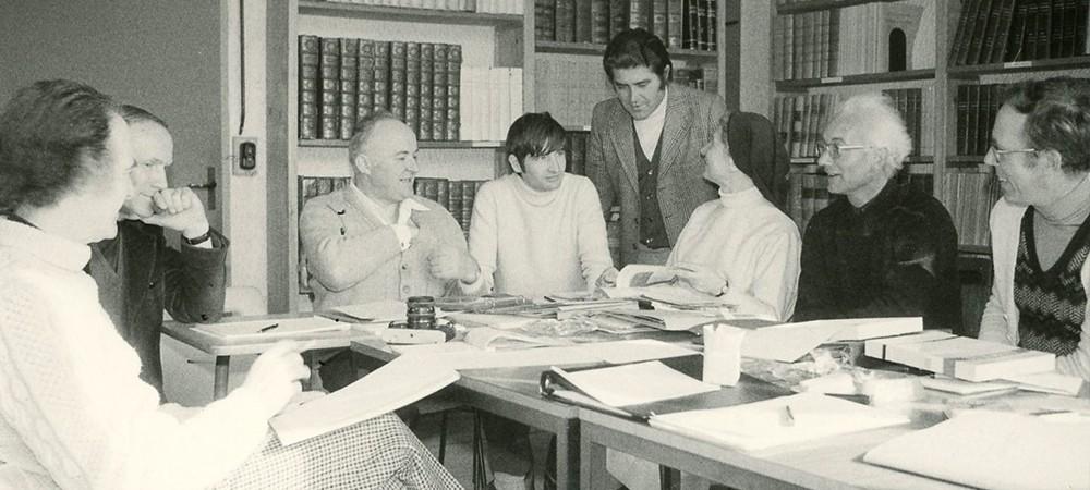 Conseil d'administration à l'abbaye de Boscodon