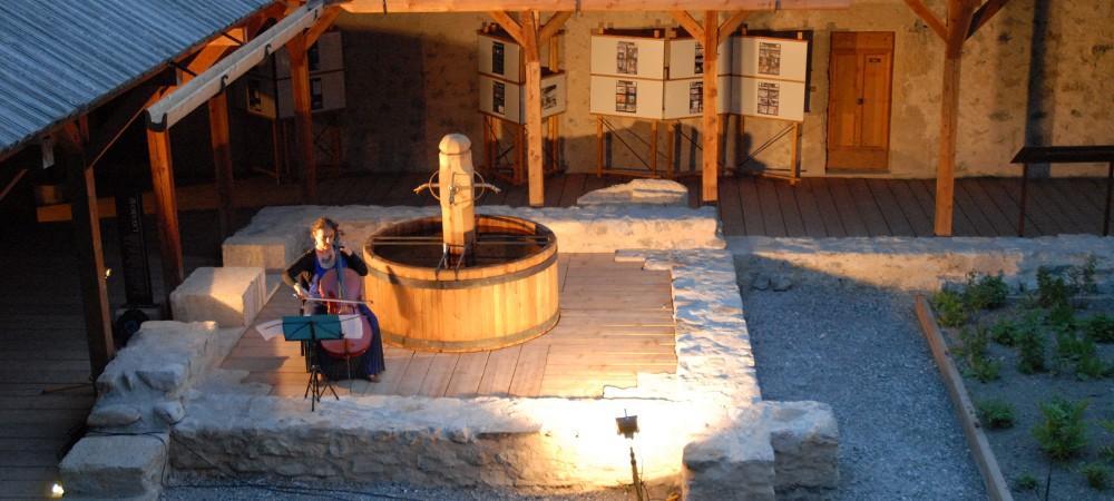 Concert à l'abbaye de Boscodon