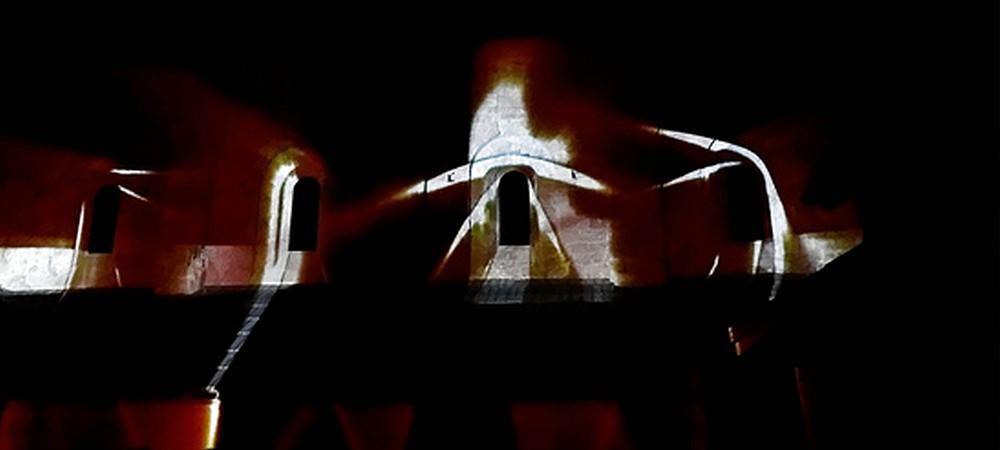 Art numérique à l'abbaye de Boscodon