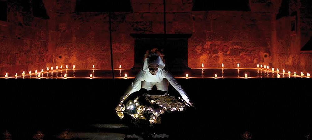 Anne Lopez à l'abbaye de Boscodon