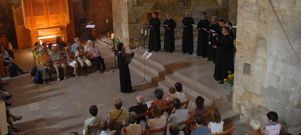 Chorale à l'abbaye de Boscodon
