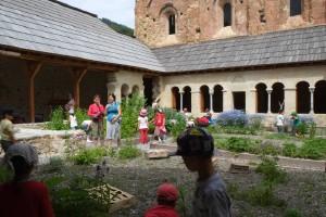 Visite sensorielle à l'abbaye de Boscodon